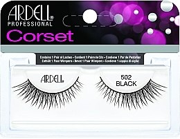 Parfumuri și produse cosmetice Extensii gene - Ardell Lashes Corset Collection Black 502