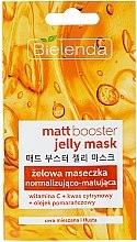 Parfumuri și produse cosmetice Mască-gel matifiantă pentru piele mixtă și grasă - Bielenda Matt Booster Jelly Mask