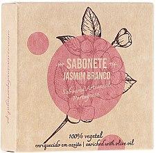 """Parfumuri și produse cosmetice Săpun natural """"Iasomie"""" - Essencias De Portugal Senses Jasmine Soap With Olive Oil"""