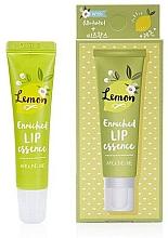 Parfumuri și produse cosmetice Esență pentru buze, aromă de lămâie - Welcos Around Me Enriched Lip Essence Lemon