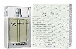 Parfumuri și produse cosmetice Al Haramain Signature - Apă de toaletă
