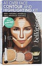 """Parfumuri și produse cosmetice Set pentru modelarea feței """"Medium"""" - Bellapierre All Over Face Contour and Highlighting Kit """"Medium"""""""