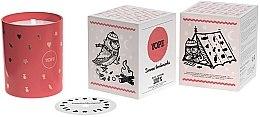 """Parfumuri și produse cosmetice Lumânare aromatică ecologică """"Cutie de iarnă cu bomboane de ciocolată"""" - Yope Winter Chocolate Box Candle"""