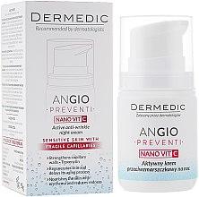 Parfumuri și produse cosmetice Cremă de noapte pentru față - Dermedic Angio Preventi Active Anti-Wrinkle Night