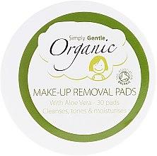 Parfumuri și produse cosmetice Șervețele de curățare pentru față - Simply Gentle Organic Fairtrade Cotton Facial Cleansing Pads