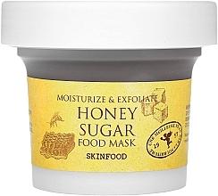 Parfumuri și produse cosmetice Маска для лица с медом и сахаром - Skinfood Honey Sugar Food Mask