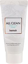 Parfumuri și produse cosmetice Spumă de curățare pentru față - Heimish All Clean White Clay Foam (mini)