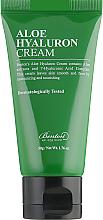 Parfumuri și produse cosmetice Cremă hidratantă cu aloe și acid hialuronic pentru față - Benton Aloe Hyaluron Cream