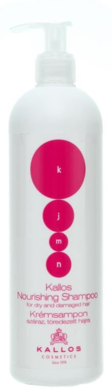 Șampon nutritiv și regenerant pentru păr uscat sau deteriorat - Kallos Cosmetics Nourishing Shampoo For Dry And Damaged Hair