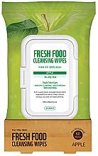 Parfumuri și produse cosmetice Șervețele demachiante - Superfood For Skin Facial Cleansing Wipes Apple