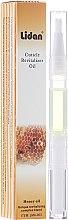 """Parfumuri și produse cosmetice Ulei cuticule tip creion parfumat """"Miere"""" - Lidan Curticle Revitalizer Honey Oil"""