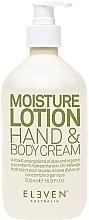 Parfumuri și produse cosmetice Увлажняющий крем для рук и тела - Eleven Australia Moisture Lotion Hand & Body Creme