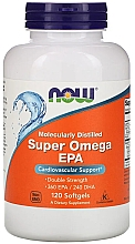 "Parfumuri și produse cosmetice Acizi grași ""Super Omega EPA"" - Now Foods Super Omega EPA Double Strength Softgels"