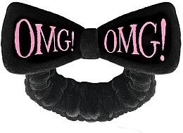 Parfumuri și produse cosmetice Косметическая повязка для волос, черная - Double Dare OMG! Black Hair Band