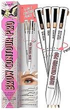 Parfumuri și produse cosmetice Creion 4 în 1 pentru sprâncene - Benefit Brow Contour Pro