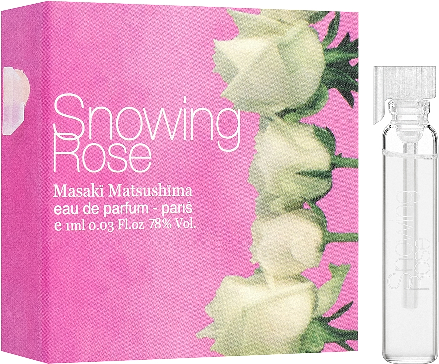 Masaki Matsushima Snowing Rose - Apă de parfum (tester)