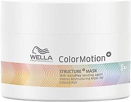 Parfumuri și produse cosmetice Mască pentru regenerarea părului vopsit - Wella Professionals Color Motion+ Structure Mask (mini)