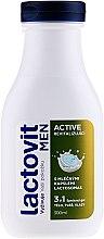 Parfumuri și produse cosmetice Gel de duș 3 în 1, pentru bărbați - Lactovit Men Active 3v1 Shower Gel