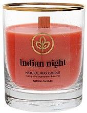 Parfumuri și produse cosmetice Lumânare aromată, 8x9.5 cm - Artman Indian Night