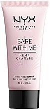 Parfumuri și produse cosmetice Primer pentru față - NYX Professional Makeup Bare With Me Hemp Radiant Perfecting Primer