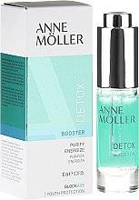 Parfumuri și produse cosmetice Gel-booster pentru față - Anne Moller Blockage Detox Booster