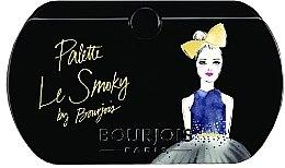Parfumuri și produse cosmetice Paletă cu fard - Bourjois Eyeshadow Palette Les Smoky