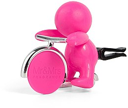 Parfumuri și produse cosmetice Mr&Mrs Fragrance Gino Citrus & Musk Fuchsia - Aromatizator auto