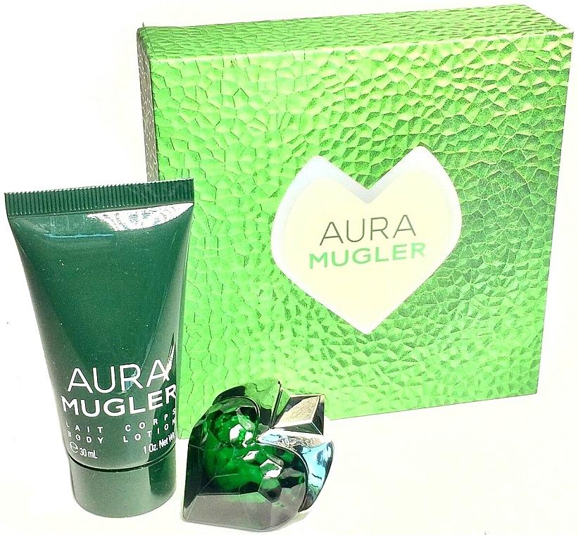 Thierry Mugler Aura Mugler - Set (edp/5ml + b/lot/30ml)