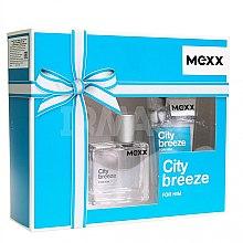 Parfumuri și produse cosmetice Mexx City Breeze For Him - Set (Edt/30ml + Sh/gel/50ml)