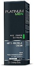 Parfumuri și produse cosmetice Crema antirid - Dr Irena Eris Platinum Men Age Power Extreme Anti-wrinkle Cream