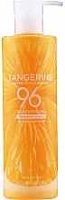 Parfumuri și produse cosmetice Gel calmant revitalizant - Holika Holika Tangerine Refreshing Essence Soothing Gel 96%
