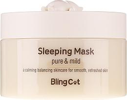 Parfumuri și produse cosmetice Mască facială de noapte - Tony Moly Bling Cat Sleeping Mask