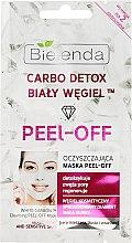 """Parfumuri și produse cosmetice Mască pentru curățare """"Cărbune alb"""" - Bielenda Carbo Detox Peel-Off Mask"""