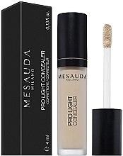 Parfumuri și produse cosmetice Concealer lichid - Mesauda Milano Pro Light Concealer