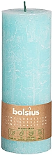 Parfumuri și produse cosmetice Lumânare cilindrică, albastră, 190x68 mm - Bolsius