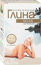 Parfumuri și produse cosmetice Argilî albă pentru corp - MedikoMed