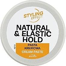 Parfumuri și produse cosmetice Pastă de păr - Joanna Styling Effect Natural & Elactic Hold Cream Paste