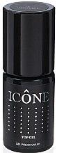 Parfumuri și produse cosmetice Fixator de unghii - Icone Gel Polish UV/LED Top Gel