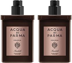 Parfumuri și produse cosmetice Acqua Di Parma Colonia Sandalo Concentree - Set (edc/refill/2x30ml)