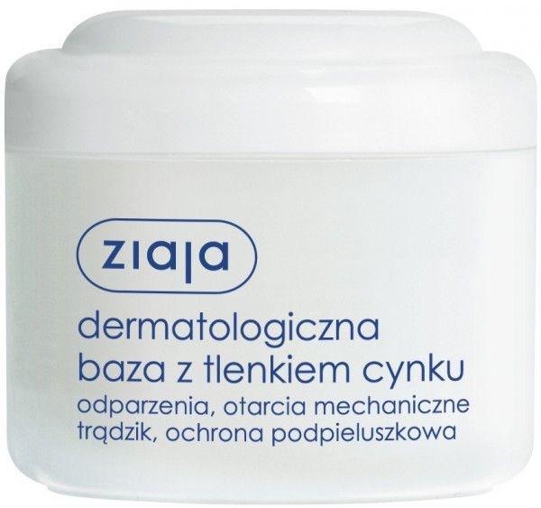 Bază dermatologică cu peroxid de zinc - Ziaja Body Care