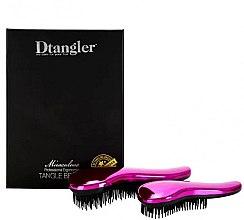 Parfumuri și produse cosmetice Set pierii de păr - KayPro Dtangler Miraculous Pink (2xbrush)