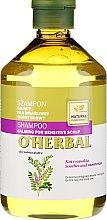 Parfumuri și produse cosmetice Șampon pentru scalp sensibil - O'Herbal