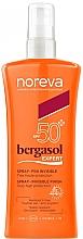 Parfumuri și produse cosmetice Spray cu protecție solară - Noreva Bergasol Expert Spray Invisible Finish SPF50+