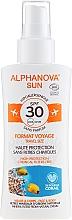 Parfumuri și produse cosmetice Spray cu protecție solară pentru corp - Alphanova Sun Bio SPF30 Spray Voyage