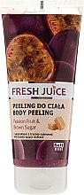 "Духи, Парфюмерия, косметика Пилинг для тела ""Маракуйя и Коричневый сахар"" - Fresh Juice Passion Fruit & Brown Sugar"