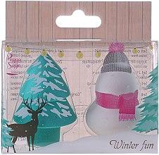Parfumuri și produse cosmetice Burete pentru machiaj, fără latex - Peggy Sage Winter Fun