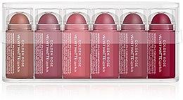 Parfumuri și produse cosmetice Set de rujuri cu efect matifiant - Golden Rose Matte Lipsticks Mini Set (6x0,5g)