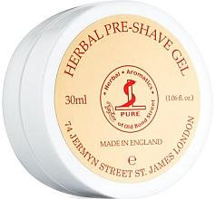 Parfumuri și produse cosmetice Gel pre-ras - Taylor of Old Bond Street Herbal Pre-Shave Gel