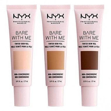 Тинт-вуаль для лица - NYX Professional Bare With Me Tinted Skin Veil — фото N2
