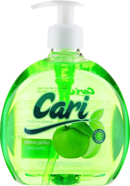 "Săpun lichid ""Măr verde"" - Cari Green Apple Liquid Soap"